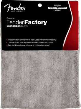 Fender® Factory Microfiber Cloth
