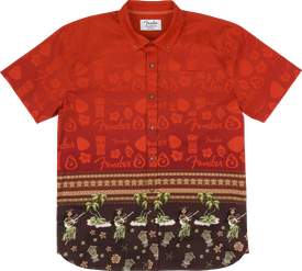 The Hawaiian Button Up Shirt