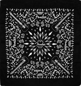 Fender® Black Bandana 2020