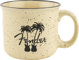 Fender® Twin Palms 14oz Camp Mug