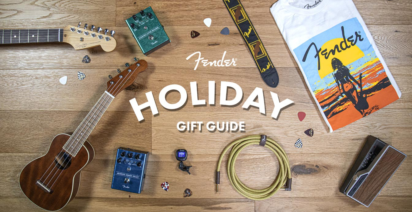 Fender Holiday Gift Guide